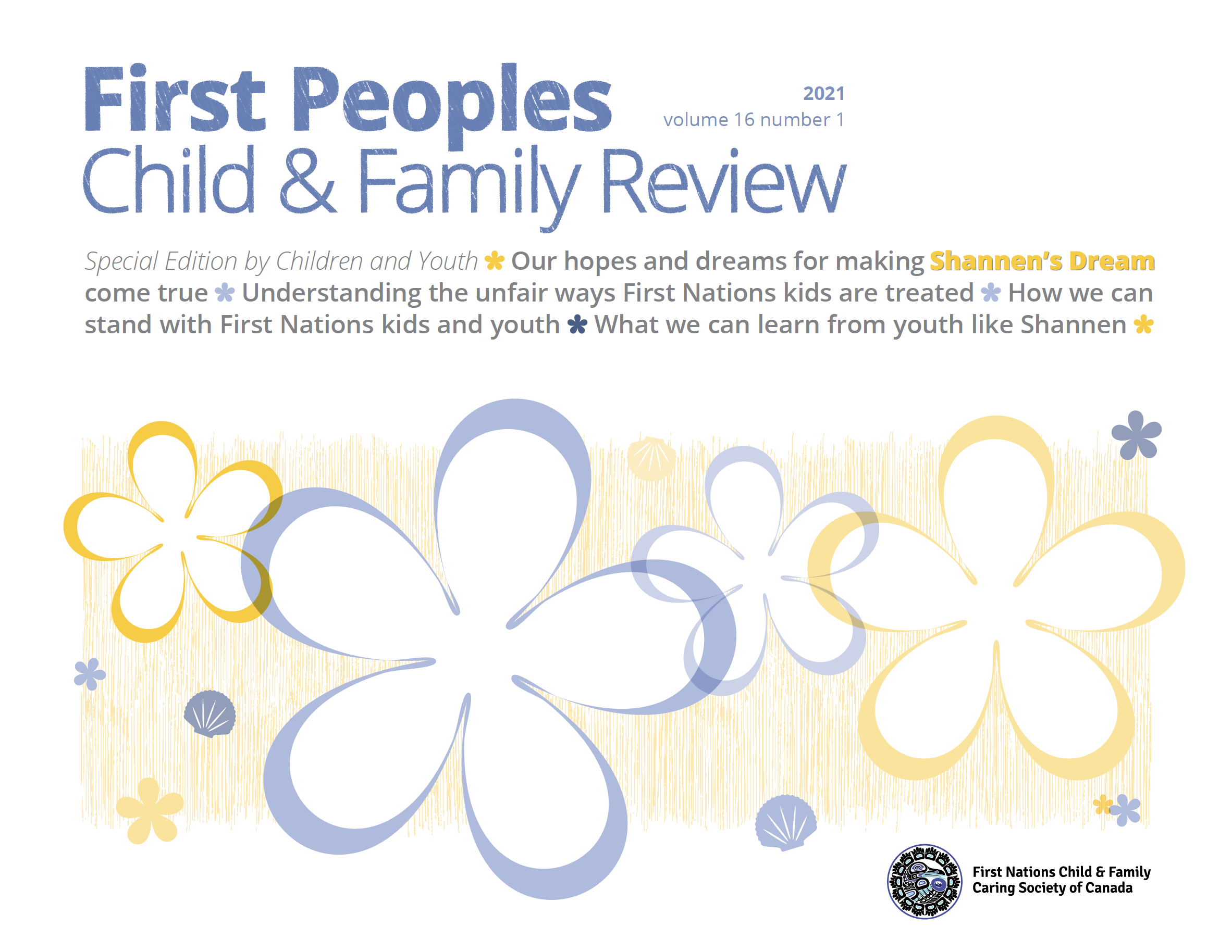 Volume 16, Issue 1 (2021) of the First Peoples Child & Family Review